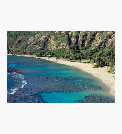 Hanuma Bay Beach Photographic Print