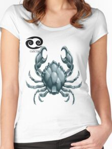 CANCER 3D Women's Fitted Scoop T-Shirt