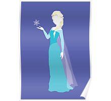Elsa from Frozen Disney Poster