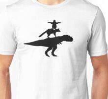 Funny animals dinosaur fox penguin pyramid Unisex T-Shirt