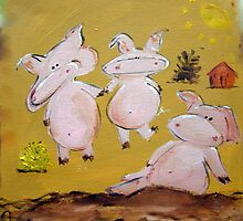 3 Little Pigs by Selvester