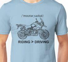 Adventure Bike Style Illustration Unisex T-Shirt