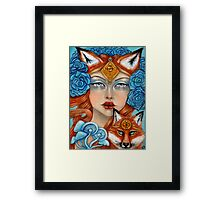 The Fox Maiden Framed Print