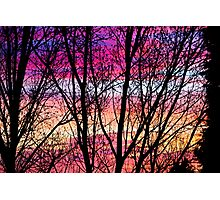 Coloured Skies Photographic Print