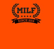MILF since 2014 Womens Fitted T-Shirt