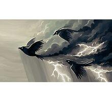 Stormbringers Photographic Print