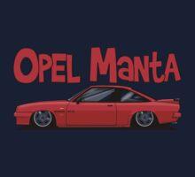 Opel Manta GTE Kids Tee