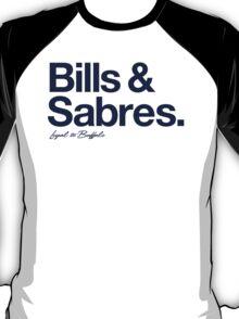 Loyal to Buffalo (Navy Print) T-Shirt