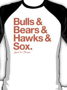 Loyal to Chicago - South Side (Orange Print) T-Shirt