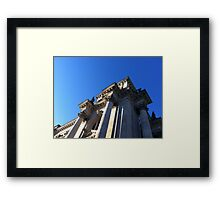 German Architecture  Framed Print