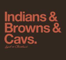 Loyal to Cleveland (Orange Print) T-Shirt
