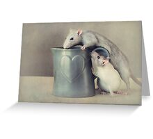 Jimmy and Snoozy Greeting Card