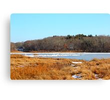 Slocum River - Massachusetts Art Print Canvas Print