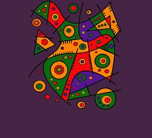 Abstract #240 Pizza Party Unisex T-Shirt