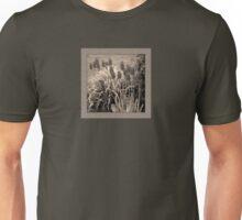 old timey tulips (square) Unisex T-Shirt