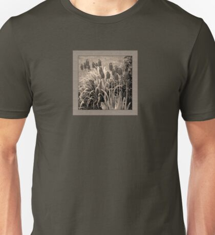 old timey tulips (square) Unisex T-Shirt