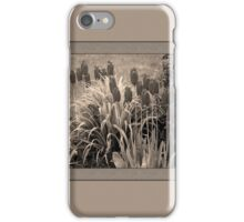 old timey tulips (square) iPhone Case/Skin