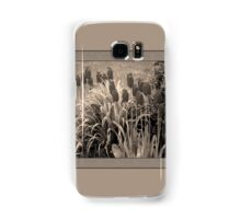 old timey tulips (square) Samsung Galaxy Case/Skin
