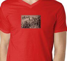 old timey tulips Mens V-Neck T-Shirt