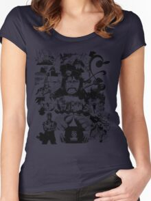 The Strawhats Women's Fitted Scoop T-Shirt