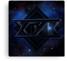 X.TA.C Logo Canvas Print
