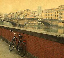 Old bridge in Florence, Italy by elgreko