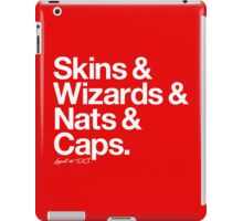 Loyal to D.C. (White Print) iPad Case/Skin