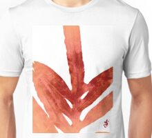 Green Fern Red Fire and White Unisex T-Shirt