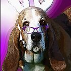 Here Comes the Easter Basset by Terri Chandler