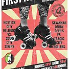 Savannah Derby Devils First Home Bout (2013) Poster by Scott Harrison