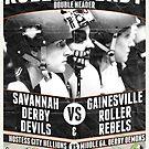Savannah Derby Devils vs. Gainesville Roller Rebels by Scott Harrison