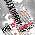 Savannah Derby Devils vs. Atlanta Rollergirls by five5six