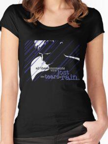 Tears in Rain Women's Fitted Scoop T-Shirt