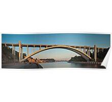 Ponte da Arrabida Bridge Poster