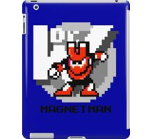 Magnet Man with Black Text iPad Case/Skin