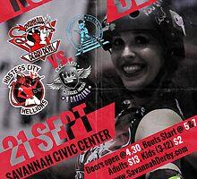 Savannah Derby Devils vs. Chattanooga Roller Girls by Scott Harrison