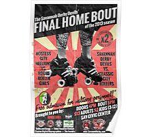 Savannah Derby Devils Final Home Bout (2013) Poster Poster