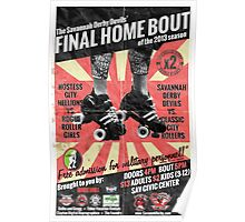 Savannah Derby Devils Final Home Bout (2013) Poster Poster