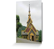 Norwegian Country Church Greeting Card