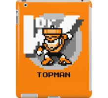 Top Man with Black Text iPad Case/Skin
