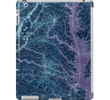 Civil War Maps 1076 Map showing the location of battle fields of Virginia Inverted iPad Case/Skin