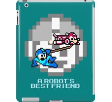 Rush dragging Megaman iPad Case/Skin