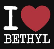 I Heart Bethyl v2 Kids Clothes