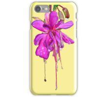 Wet Flower iPhone Case/Skin