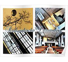 St. Barbarakirche Peissenberg Poster