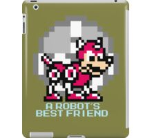 A Robot's Best Friend iPad Case/Skin