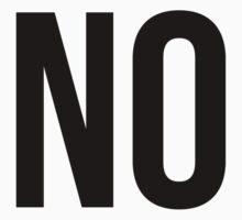 No (v1) by sstilinski