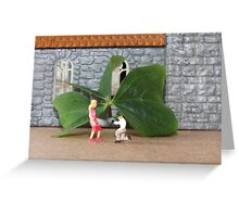 Paddy gives Liz a cubic zirconia engagement ring….the ultimate sham rock! Greeting Card
