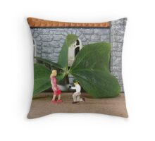 Paddy gives Liz a cubic zirconia engagement ring….the ultimate sham rock! Throw Pillow