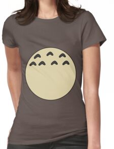My Totoro belly Womens Fitted T-Shirt